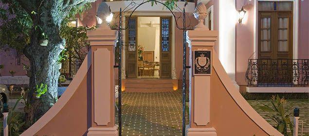 Fachada do Hotel Boutique Quinta das Videiras