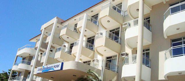 Fachada do Joaquina Beach Hotel
