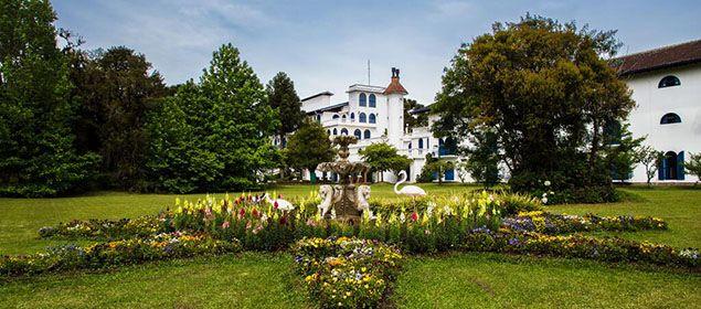 Jardim do Hotel Gramado Palace