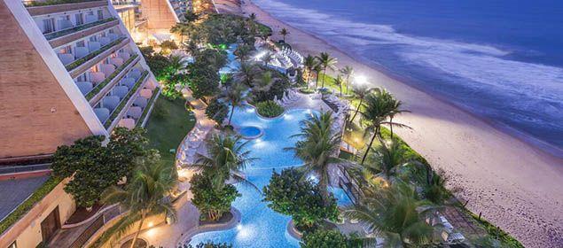 Fachada do Serhs Natal Grand Hotel e Resort
