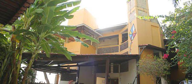 Fachada do hotel Morro do Careca