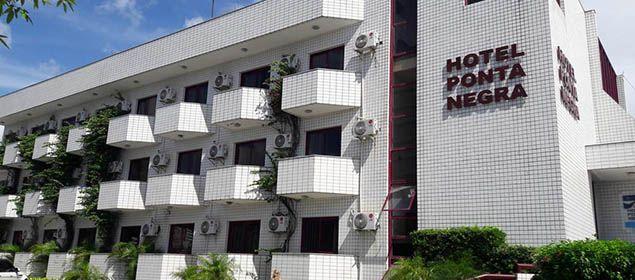 fachada do hotel Ponta Negra