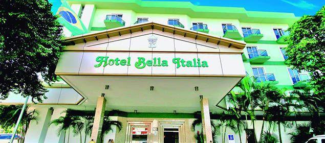 Fachada do Bella Italia hotel