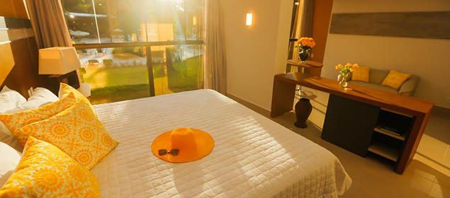 Fachada do quarto no Vivaz Cataratas Hotel Resort