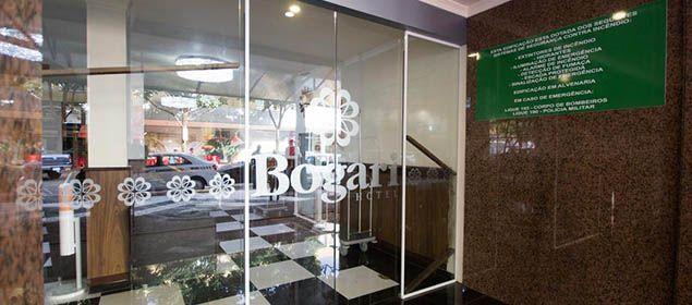 Fachada do Bogari Hotel