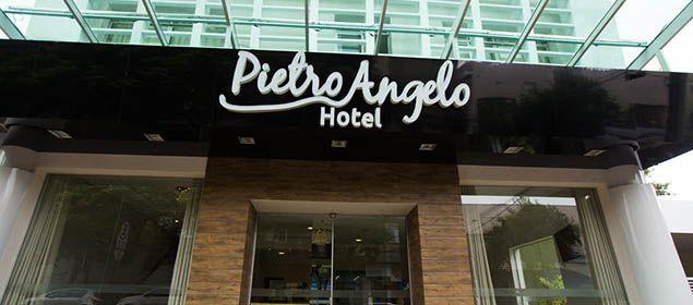 Fachada do Pietro Angelo Hotel