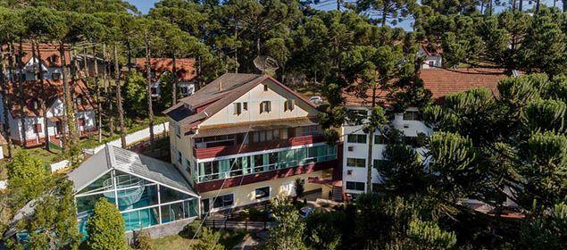fachada Hotel Golden Park Campos