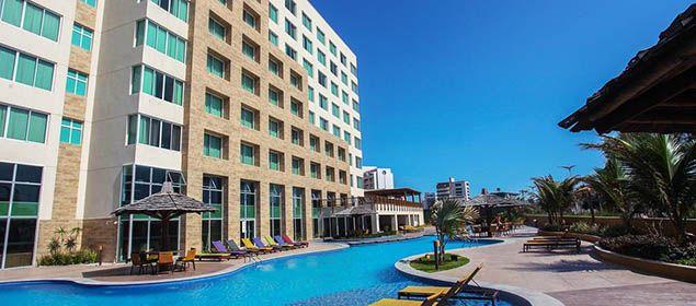 fachada do Gran Mareiro Hotel
