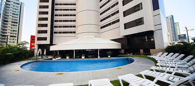 Fachada Comfort Hotel Fortaleza