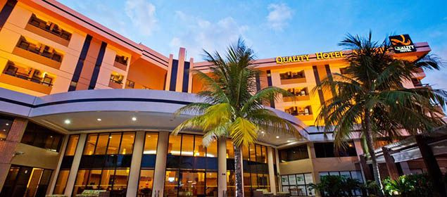 Fachada do Quality Hotel Aracaju
