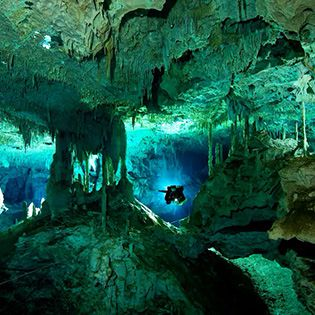 Mergulho em cavernas em Tulun - Cancun