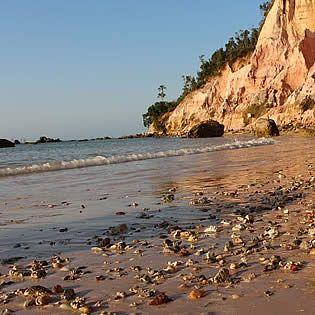 Praia da Argila Morro de São Paulo