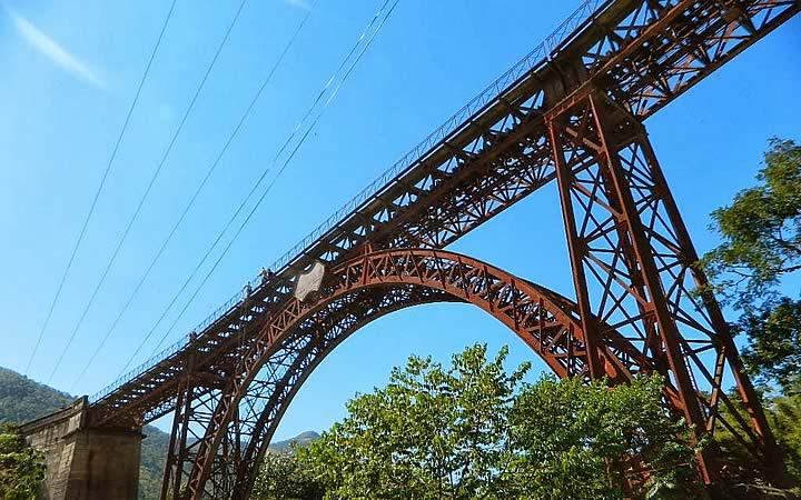 Viaduto Ferroviário Paulo de Frontin - Miguel Pereira