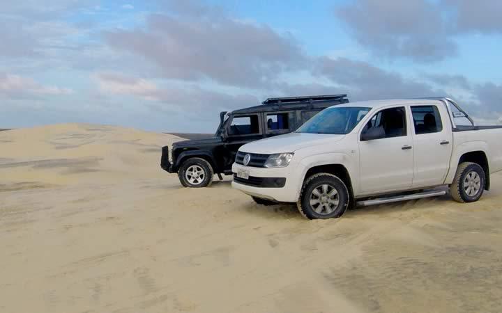 Dois Meios de Transporte Para se Locomover em Lençóis Maranhenses
