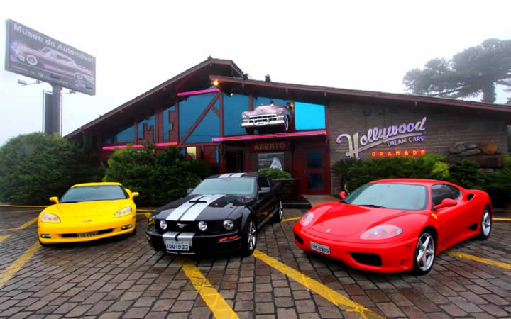 Entrada Hollywood Dream Cars em Gramado