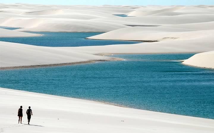Lagoa Bonita em Lençóis Maranhenses