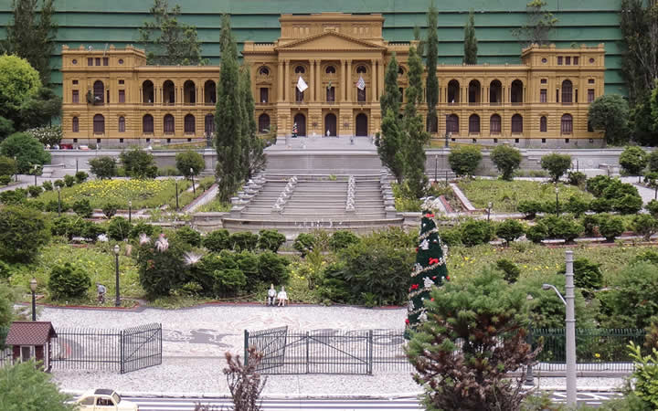 Museu Paulista Mini Mundo em Gramado