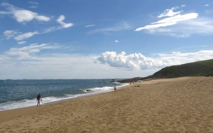 Praia Virgem em Rio das Ostras