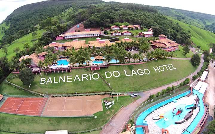 Balneário do Lago Hotel em Capitólio