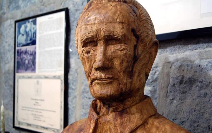 Busto de Toivo Uuskallio - Museu Eva Hilden - Penedo