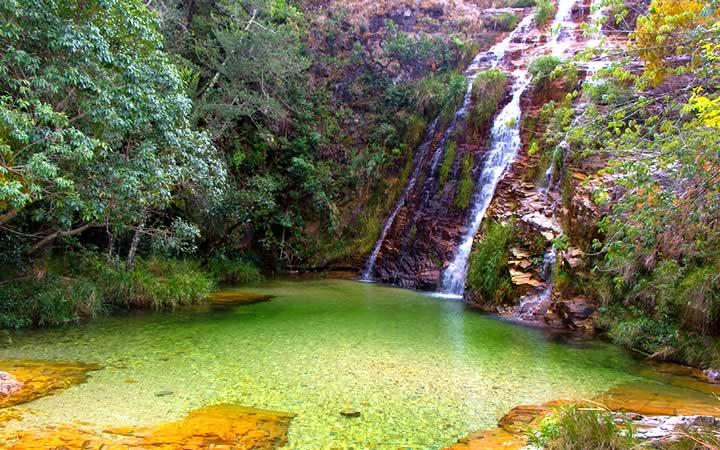 Cachoeira da Lagoa Azul em Capitólio