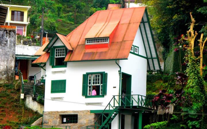 Casa de Santos Dummont em Petrópolis