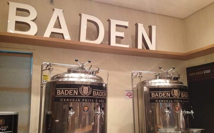 Fábrica da cervejaria Baden Baden em Campos do Jordão