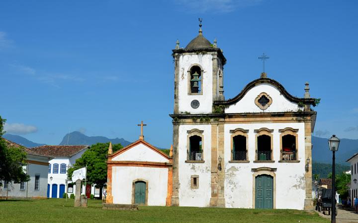 Igreja de Santa Rita - Paraty