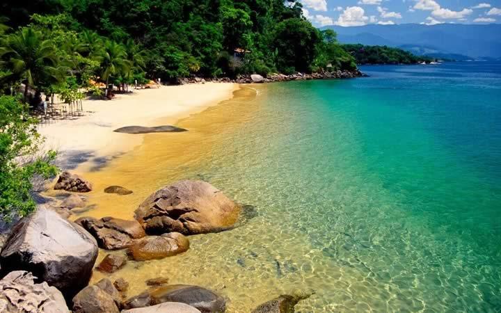 Ilha do Pelado em Paraty