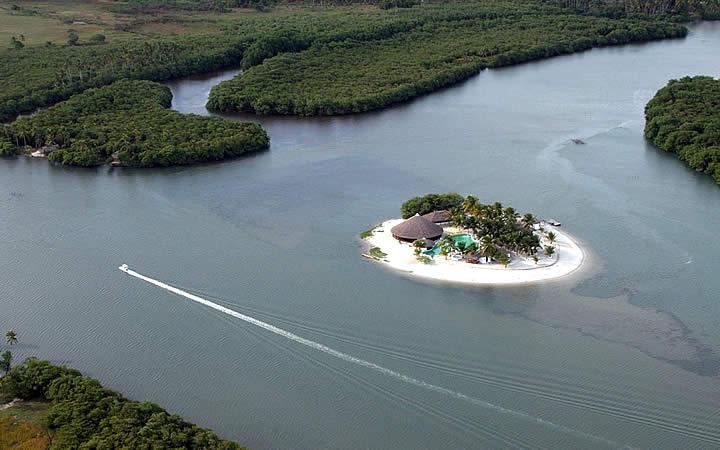 Ilha em Maceió