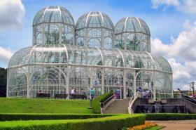 Jardim botânico - Estufa em Curitiba
