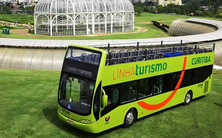 Linha de Turismo em Curitiba no Paraná