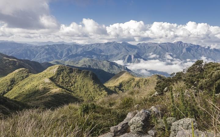 Montanhas da Serra da Mantiqueira - Campos do Jordão