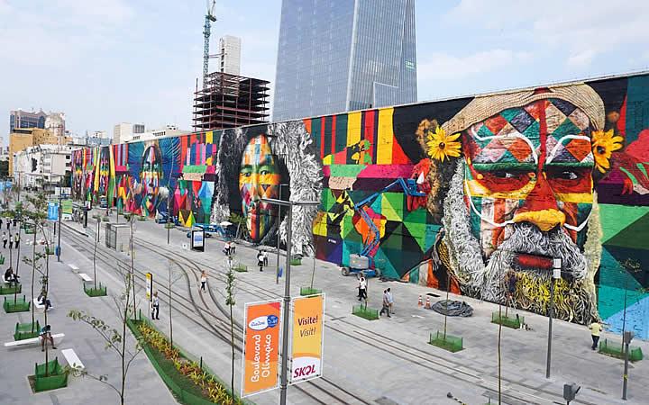Mural Todos somos um - Eduardo Kobra
