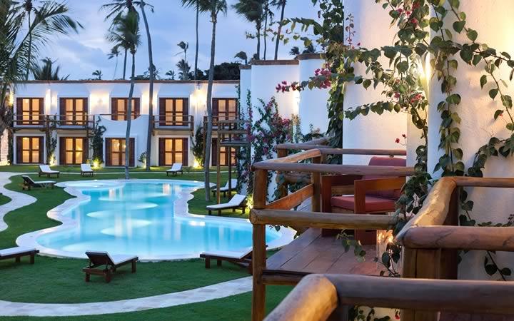My blue hotel em Jericoacoara