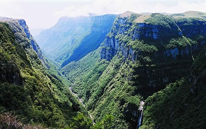 Parque Nacional Serra Geral em Cambará do Sul