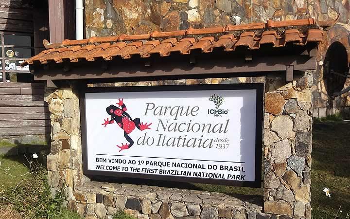 Parque Nacional do Itatiaia em Penedo