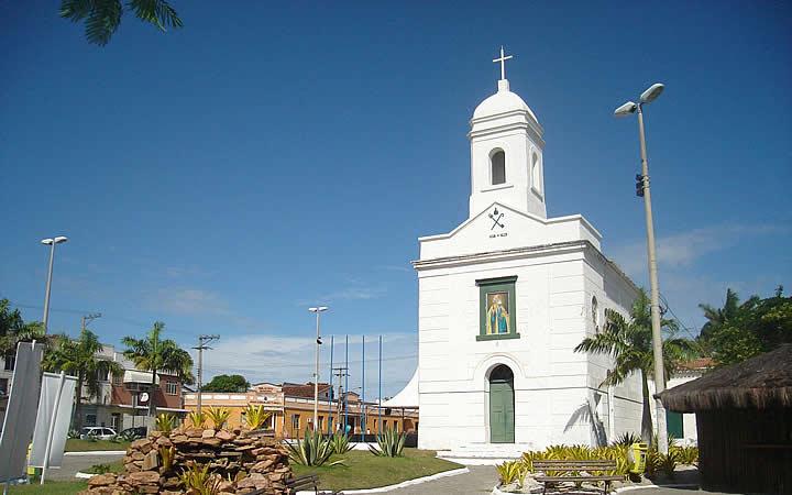 Praça da igreja matriz de São Pedro da Aldeia