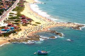 Praia Costa Azul em Rio das Ostras