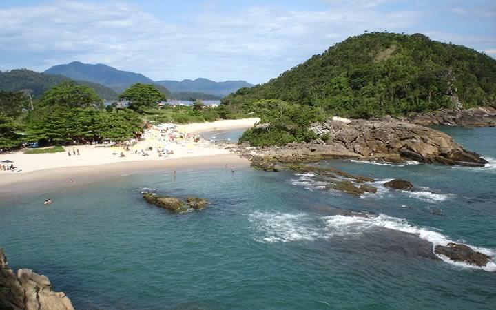 Praia da Trindade em Paraty