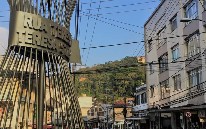 Rua Tereza em Petrópolis