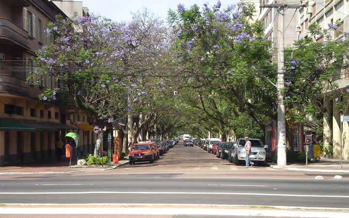 Rua da Republica - Cidade Baixa em Porto Alegre