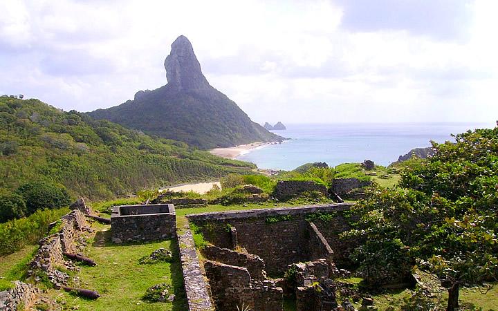 A ilha Fernando de Noronha