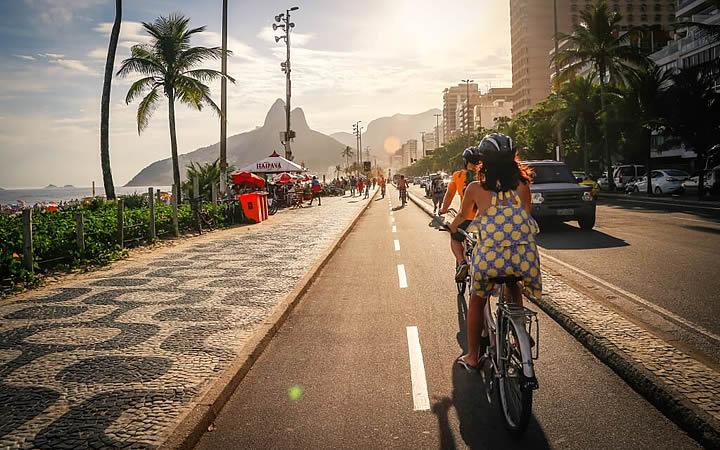 Andar de Bicicleta no Rio de Janeiro