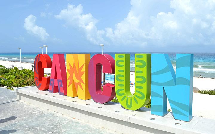 Cancún Letreiro