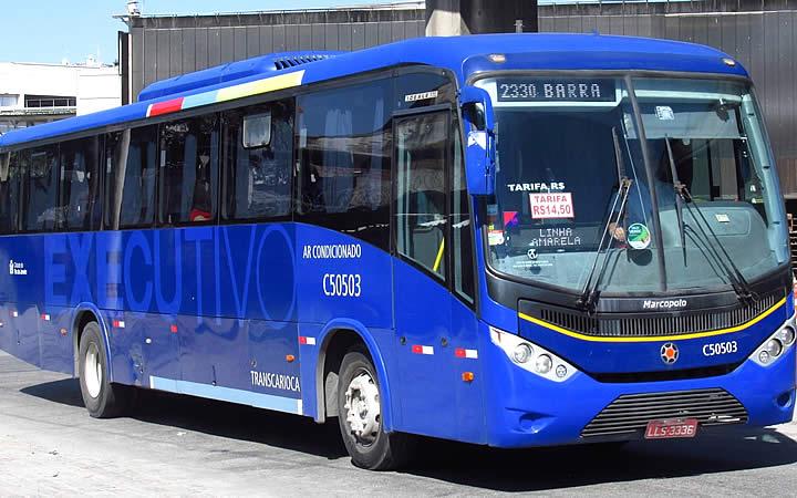 Conexão Barra - ônibus da linha 2330