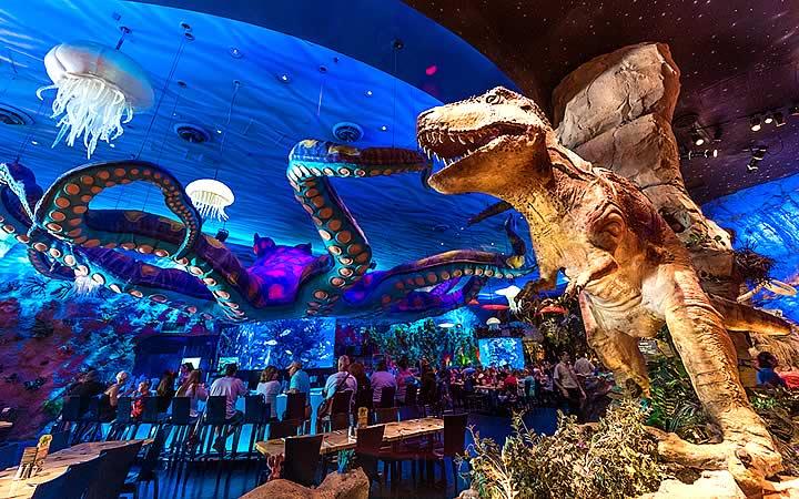 Disney Springs - Restaurante T-Rex - Orlando