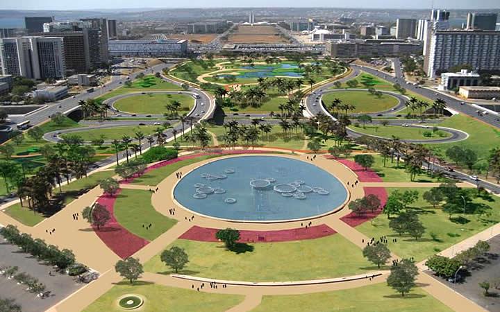 Eixo Monumental - Brasília