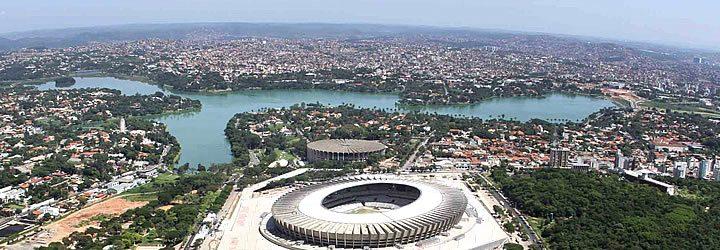 Estádio Mineirão em Belo Horizonte