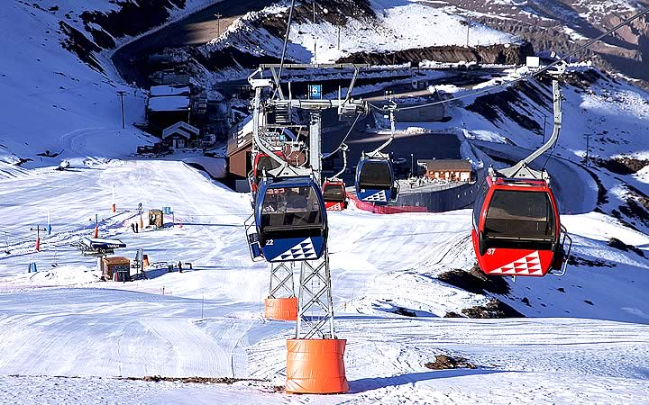 Estação de esqui - Valle Nevado